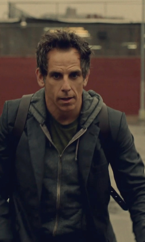 Ben Stiller with Alternative Apparel Core Crew Neck T Shirt in While We're Young
