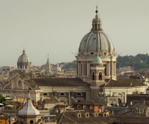 Unknown Actor with San Carlo al Corso Rome, Italy in Spy