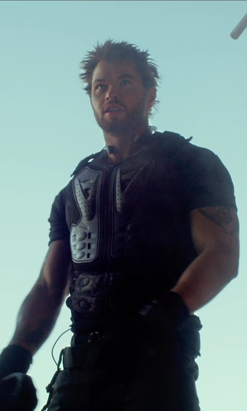 Kellan Lutz with Calvin Klein Classic Crew T-shirt in The Expendables 3