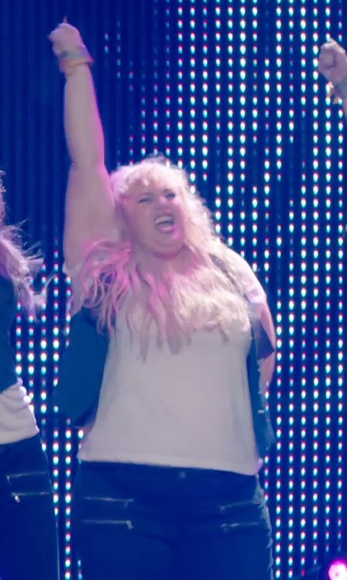 Rebel Wilson with AV-JEFE Headset Microphone for Audio-Technica Wireless Systems in Pitch Perfect 2