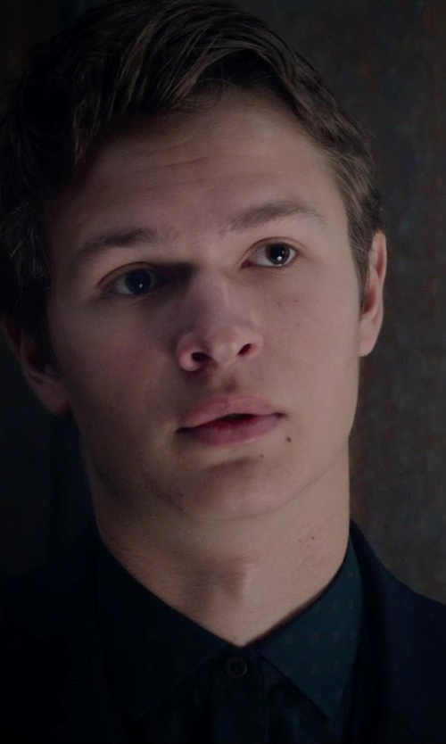 Ansel Elgort with Tommy Hilfiger Twill Trim-Fit Sport Coat in The Divergent Series: Insurgent