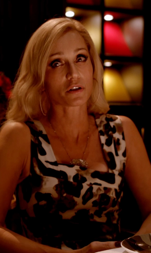 Kristin Scott Thomas with Paule Ka	 Animal Jacquard Dress in Only God Forgives
