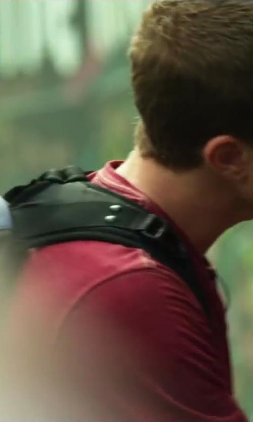 Jonny Weston with Nike Brasilia 6XL Backpack in Project Almanac