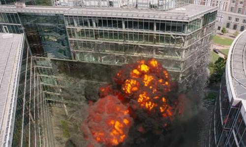 No Actor with Potsdamer Platz Berlin, Germany in Captain America: Civil War