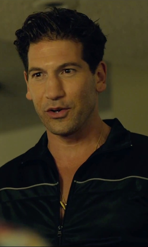 Jon Bernthal with Michael Kors Full-Zip Cotton Track Jacket in We Are Your Friends