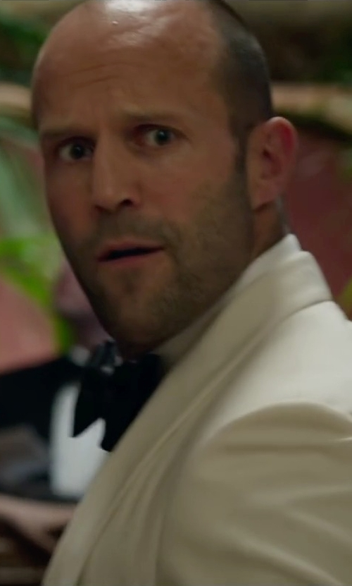 Jason Statham with Charvet Solid Poplin Dress Shirt in Spy
