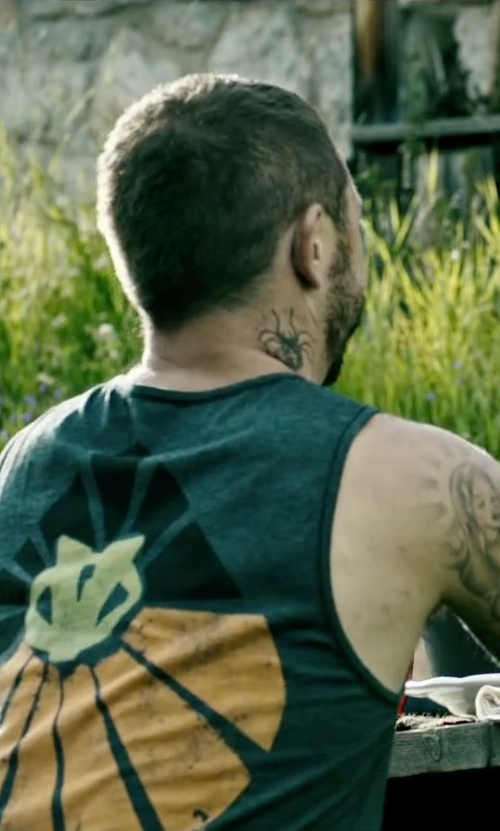 Matias Varela with Superb The Prey Tank Top in Point Break