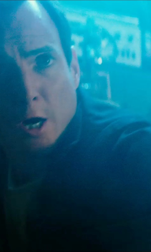 Will Arnett with Belstaff Lightweight Field Jacket in Teenage Mutant Ninja Turtles (2014)