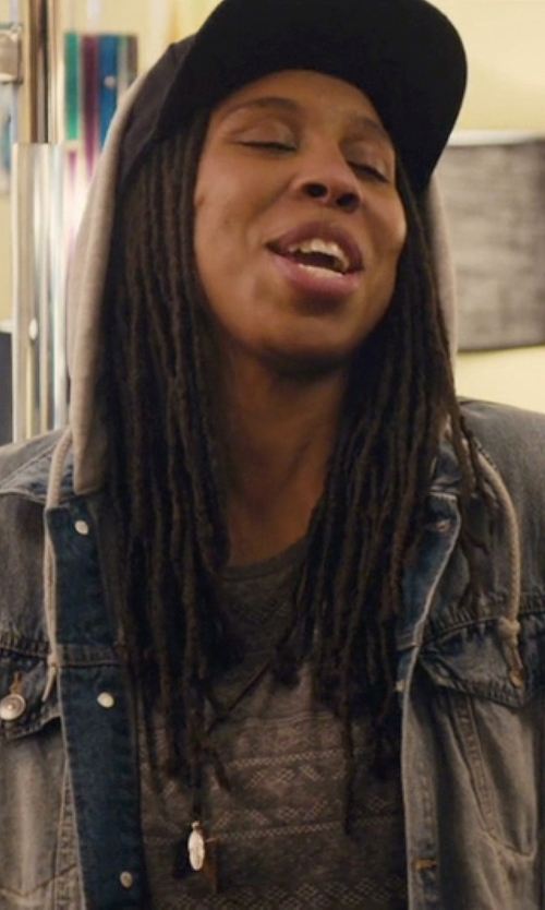 Lena Waithe with Ted Baker Graphic Print T Shirt in Master of None