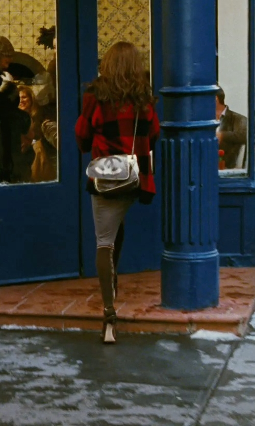 Sarah Jessica Parker with Alexander Wang Buffalo Plaid Cardigan in Sex and the City