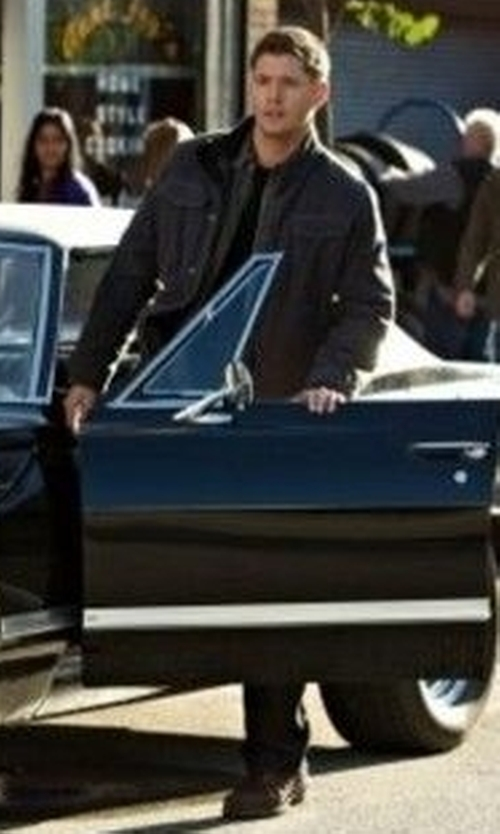 Jensen Ackles with Eastland 'Elkton 1955' Plain Toe Boots in Supernatural