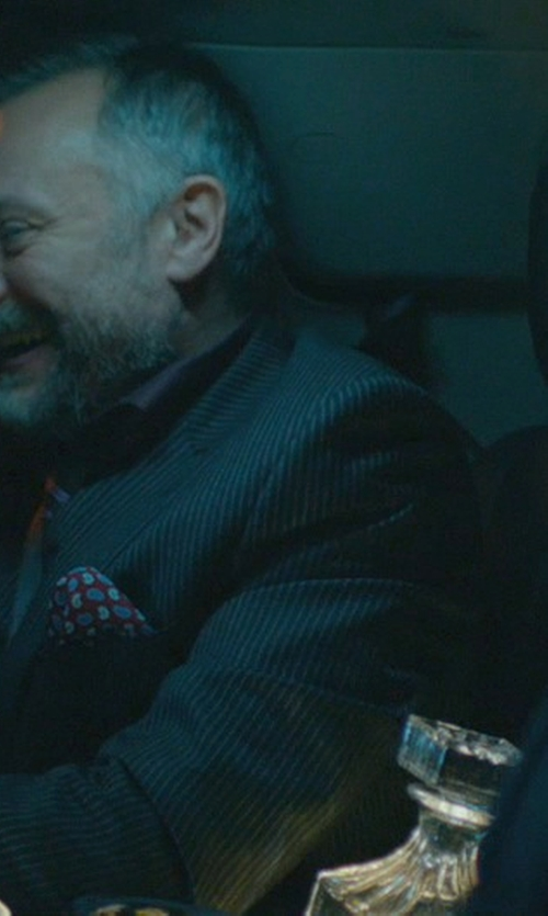 Michael Nyqvist with Top Shelf Graffiti Whiskey Decanter in John Wick