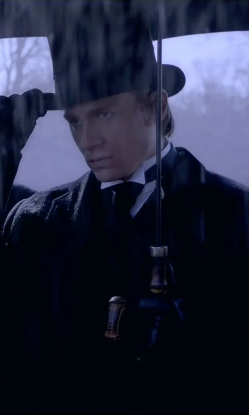 Charlie Hunnam with Christys London Formal Top Hat in Crimson Peak