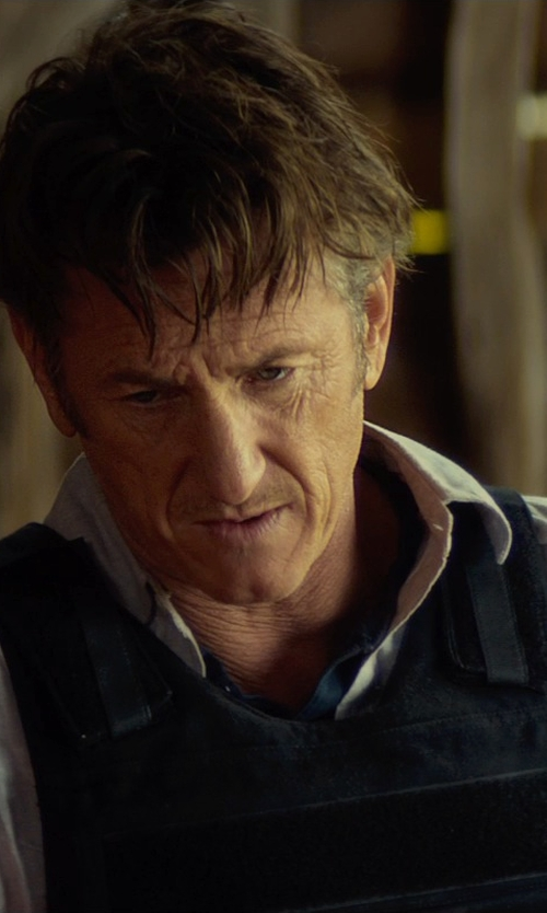 Sean Penn with GH Armor Tactical Outer Carrier Vest in The Gunman
