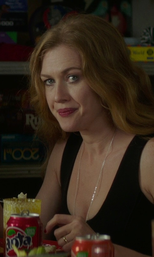 Mireille Enos with Helmut Lang Tank Dress in If I Stay