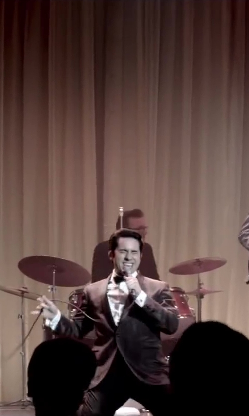 No Actor with David Donahue Regular Fit Tuxedo Shirt in Jersey Boys