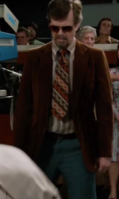 Dylan Baker with Antonio Miro Corduroy Blazer in Anchorman 2: The Legend Continues