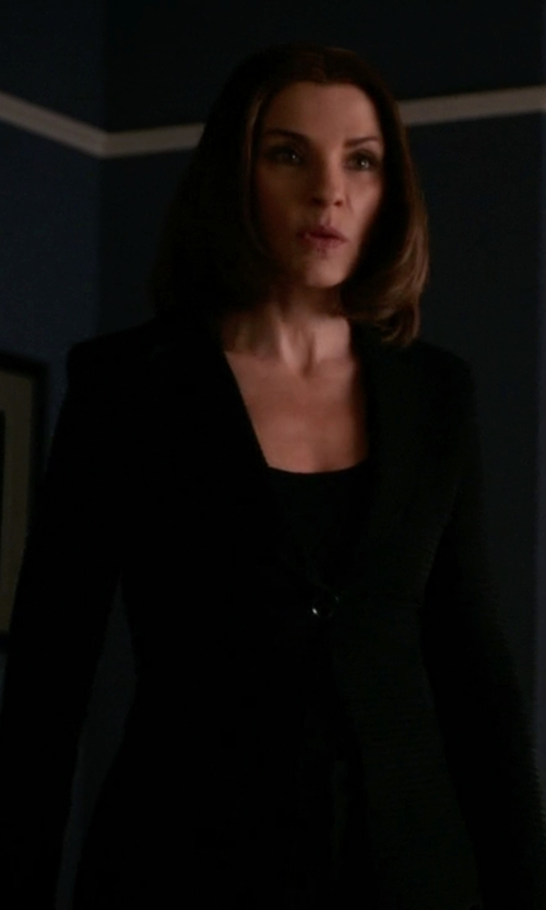 Julianna Margulies with J.Crew Campbell Blazer in The Good Wife