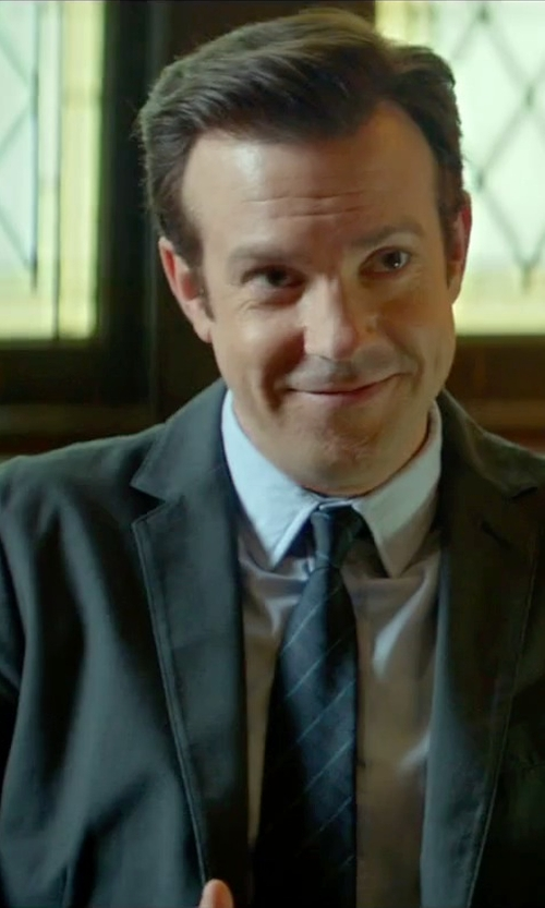 Jason Sudeikis with Armani Collezioni	 Modern Fit Poplin Dress Shirt in Sleeping with Other People