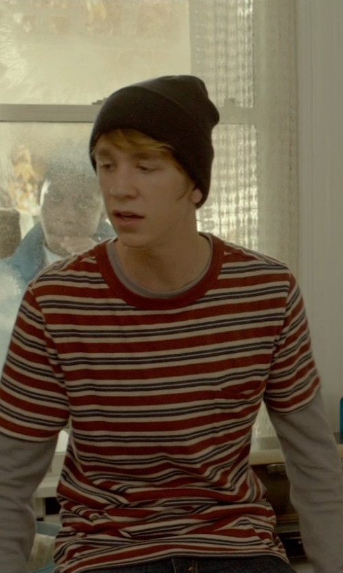 Thomas Mann with Helmut Lang Long Sleeve T-Shirt in Me and Earl and the Dying Girl