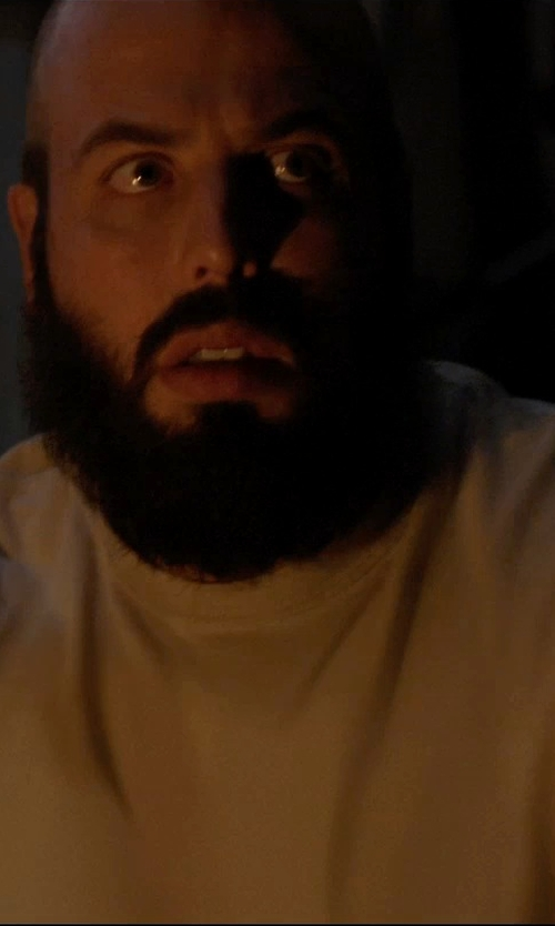 Angus Sampson with Won Hundred Crew Neck T-Shirt in Insidious: Chapter 3