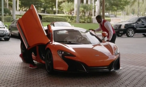 London Brown with McLaren 650S Coupe in Ballers
