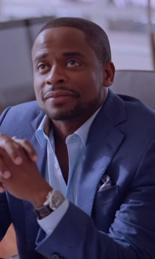 Dulé Hill with Canali Two Piece Suit in Ballers