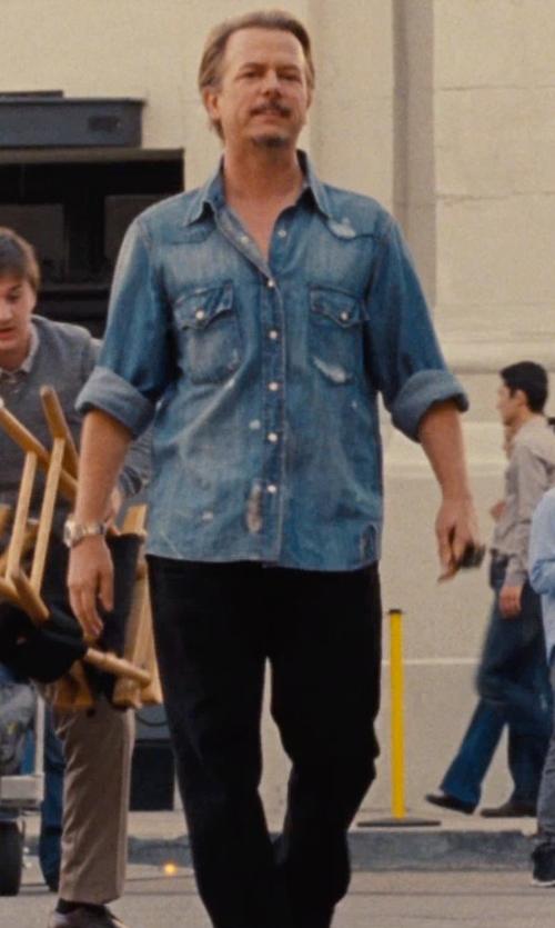David Spade with Diesel 'Safado' Slim Fit Jeans in Entourage