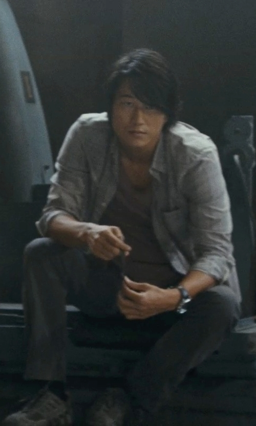 Sung Kang with Diadora Titan Leather Sneakers in Fast Five