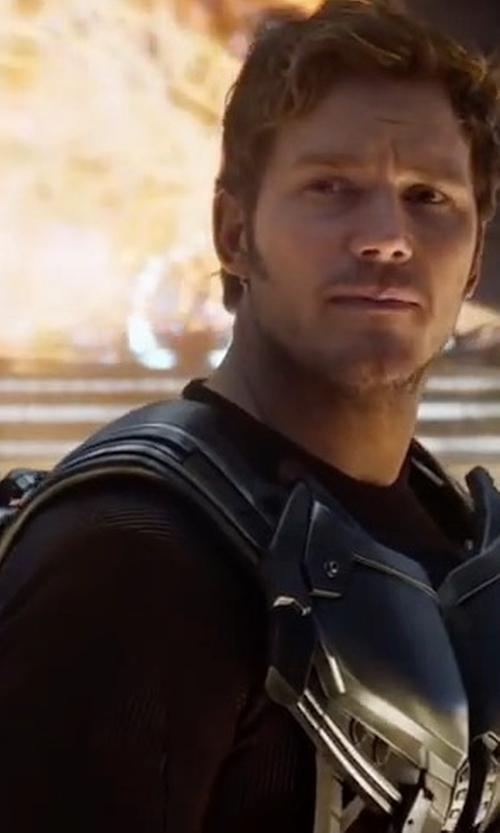 Chris Pratt with Derek Rose Basel Long-Sleeved Jersey T-Shirt in Guardians of the Galaxy Vol. 2
