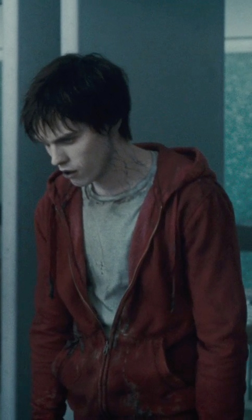 Nicholas Hoult with Muttonhead Collective Reversible Drifter T-Shirt in Warm Bodies
