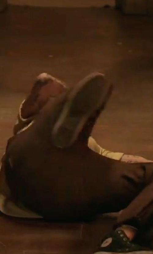 Joe Gilgun with Converse Core Hi Chuck Taylor All Star Sneakers in Preacher