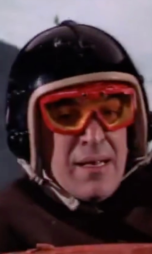 Telly Savalas with Fox Racing Air Defence Adult Goggle in On Her Majesty's Secret Service
