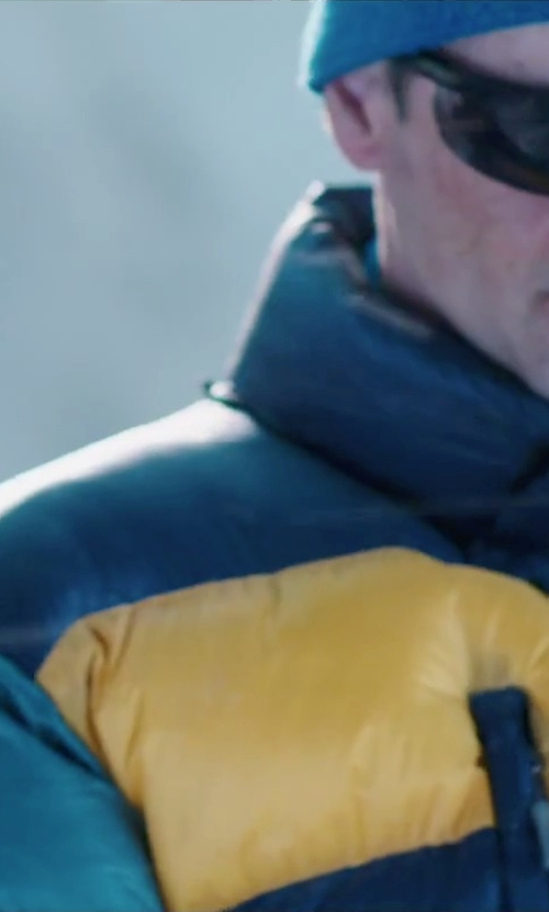 John Hawkes with Marmot 8000M Parka Jacket in Everest