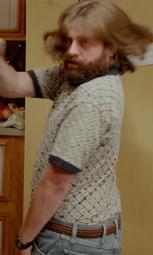 Zach Galifianakis with Nudie Jeans Co. Thin Finn Jeans in Masterminds