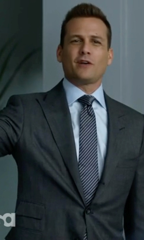 Gabriel Macht with Boss Hugo Boss Italian Virgin Wool & Silk Suit in Suits