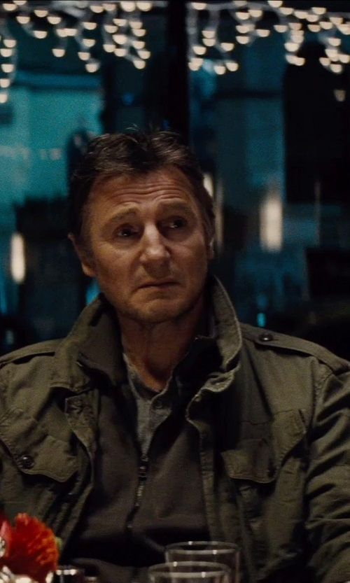 Liam Neeson with Diesel Men's J-Chika Jacket in Run All Night