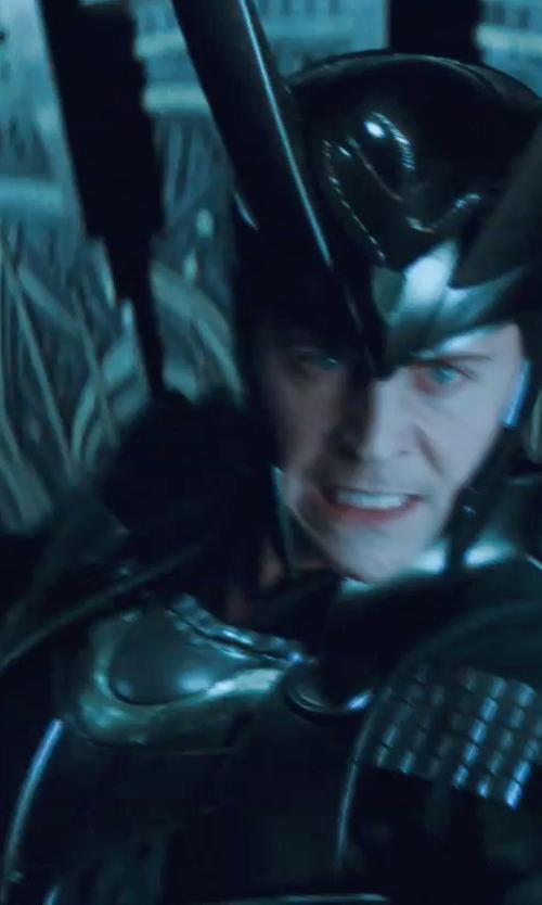 Tom Hiddleston with Alexandra Byrne (Costume Designer) Custom Made 'Loki' Armor Costume in Thor