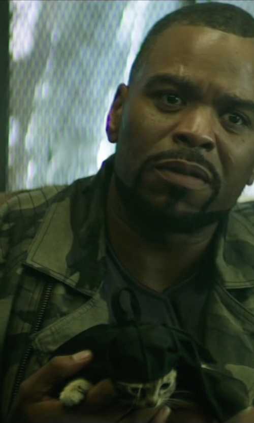Method Man with Topman Camouflage Print M65 Jacket in Keanu