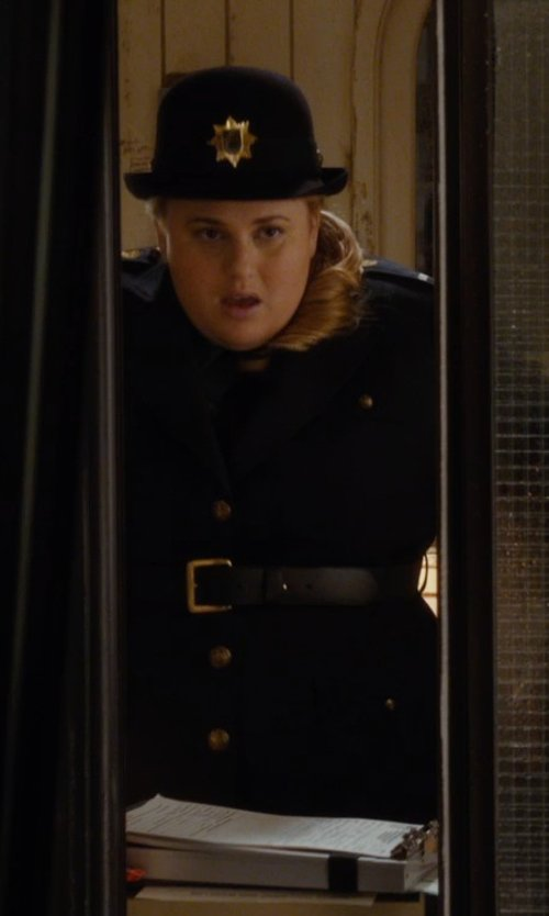 Rebel Wilson with Elbeco TexTrop2 Women's Long Sleeve Shirt in Night at the Museum: Secret of the Tomb