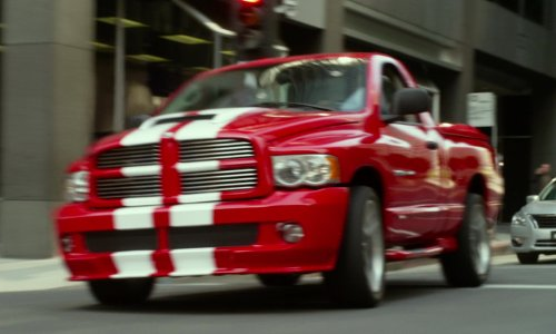 Ice Cube with Dodge Ram SRT-10 in Ride Along