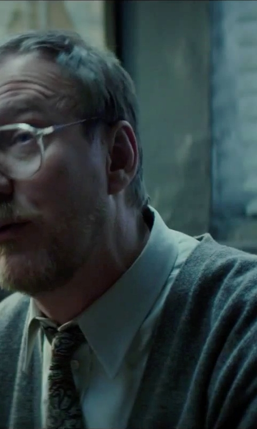 David Thewlis with Paul Smith Poplin Dress Shirt in Regression