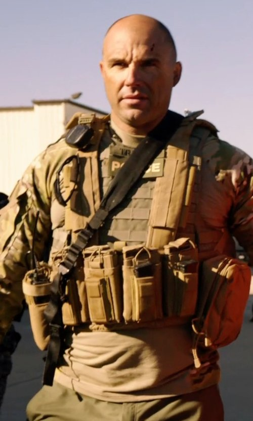 Kevin Vance with Voodoo Tactical Tactical Chest Rig in Sabotage