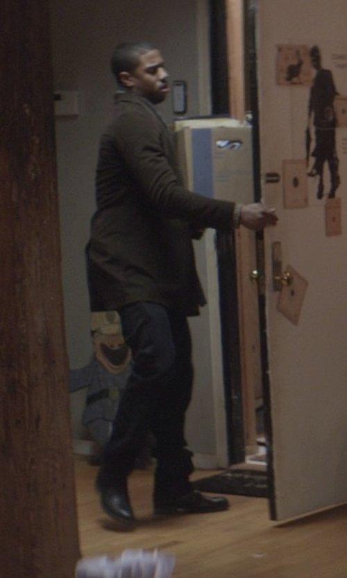 Michael B. Jordan with Mezlan 'Ponte' Cap Toe Oxford Shoes in That Awkward Moment