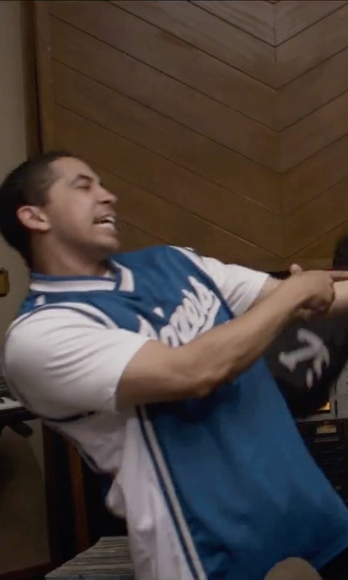 Neil Brown Jr. with Marc by Marc Jacobs Crew Neck T-Shirt in Straight Outta Compton