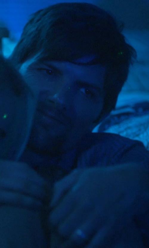 Adam Scott with STI by Spectore Titanium Wedding Band in The Overnight