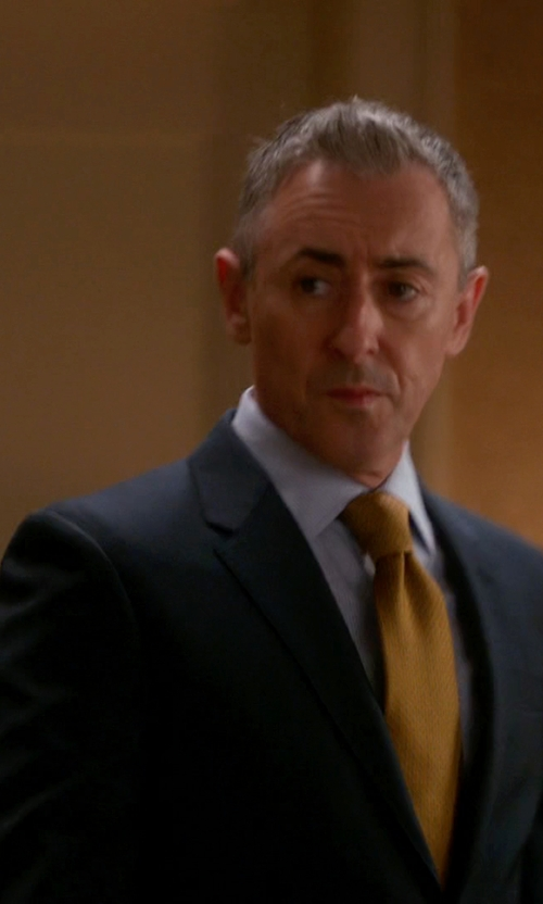Alan Cumming with Canali Two-Piece Suit in The Good Wife