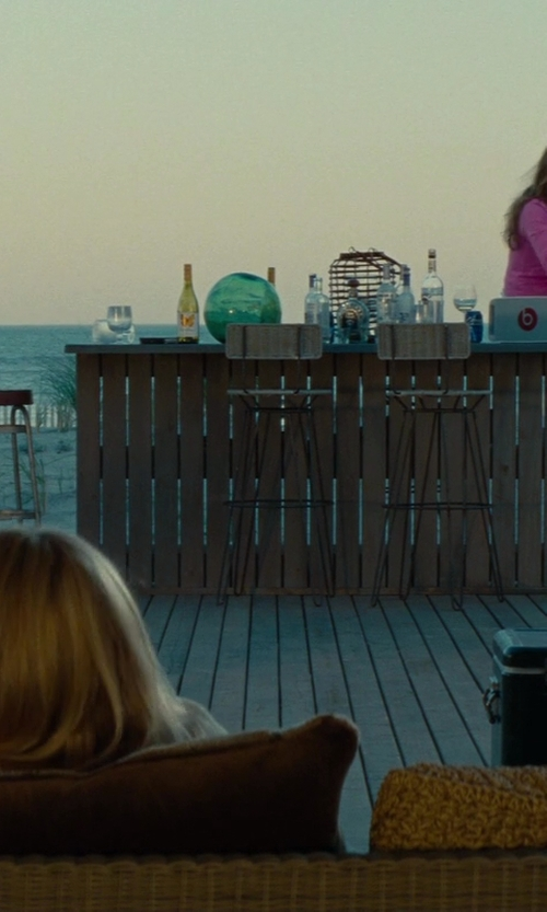 Taylor Kinney with Rustic Furniture Mall Bombay Hand Painted Bar Table in The Other Woman