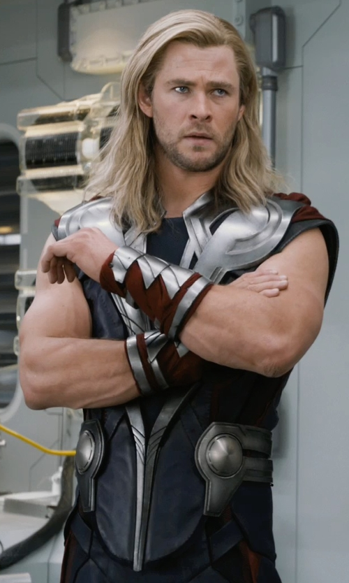 Chris Hemsworth with Alexandra Byrne	(Costume Designer) Custom Made 'Thor' Costume in Marvel's The Avengers