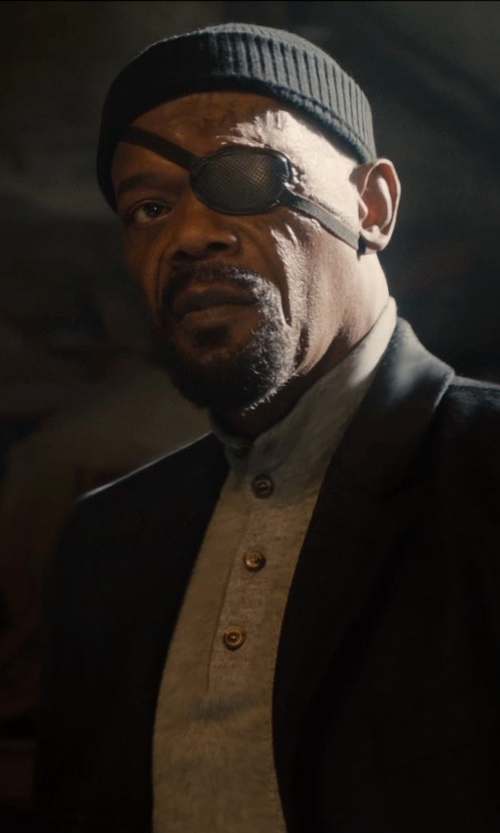 Samuel L. Jackson with Walmart Eye Patch in Avengers: Age of Ultron